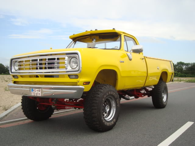 Powerwagons 1976er dodge w200 dodge trucks